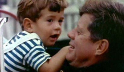 JFK, Jr., and JFK